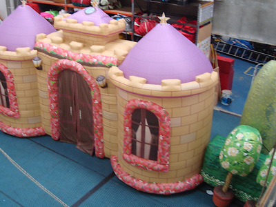 Castle Inflatable Stage Backdrop