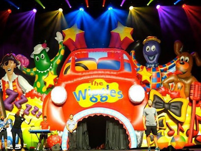 Wiggles Big Red Car Inflatable Stage