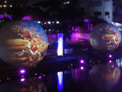 7m Inflatable Projection Sphere Rental