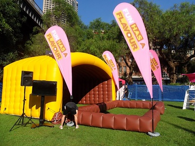 Inflatable Enclosure